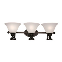 Z-Lite Carlisle 3 Light Wall Sconce in Bronze 317-3V