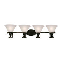 Z-Lite Carlisle 4 Light Wall Sconce in Bronze 317-4V