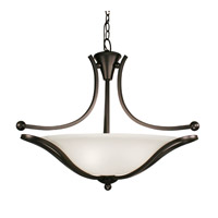 Z-Lite Carlisle 3 Light Bowl Pendant in Bronze 317P-24