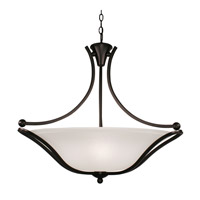 Z-Lite Carlisle 3 Light Bowl Pendant in Bronze 317P-28