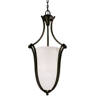 Z-Lite Carlisle 3 Light Foyer Pendant in Bronze 317P-32 photo thumbnail