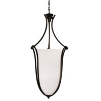 Z-Lite Carlisle 6 Light Foyer Pendant in Bronze 317P-43