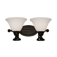Z-Lite Carlisle 2 Light Wall Sconce in Bronze 318-2V