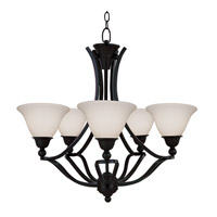 Z-Lite Carlisle 5 Light Chandelier in Bronze 318-5