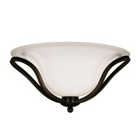 Z-Lite Carlisle 2 Light Flush Mount in Bronze 318F-2