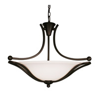 Z-Lite Carlisle 3 Light Bowl Pendant in Bronze 318P-24