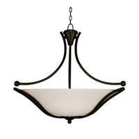 Z-Lite Carlisle 3 Light Bowl Pendant in Bronze 318P-28