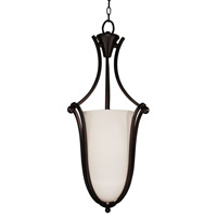 Z-Lite Carlisle 3 Light Foyer Pendant in Bronze 318P-32