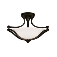 Z-Lite Carlisle 3 Light Semi-Flush Mount in Bronze 318SF
