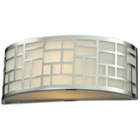 Z-Lite Elea 1 Light Wall Sconce in Chrome 328-1S-CH