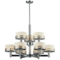 Z-Lite 328-9-CH Elea 9 Light 32 inch Chrome Chandelier Ceiling Light