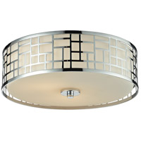 Z-Lite 328F16-CH Elea 3 Light 16 inch Chrome Flush Mount Ceiling Light