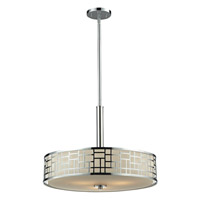 Z-Lite Elea 3 Light Pendant in Chrome 328P-CH
