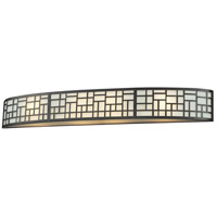 Elea 4 Light 35 inch Bronze Vanity Wall Light