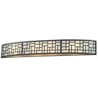 Z-Lite 329-4V-BRZ Elea 4 Light 35 inch Bronze Vanity Light Wall Light