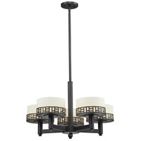 Z-Lite 329-5-BRZ Elea 5 Light 24 inch Bronze Chandelier Ceiling Light