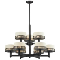 Elea 9 Light 32 inch Bronze Chandelier Ceiling Light