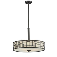 Z-Lite Elea 3 Light Pendant in Bronze 329P-BRZ