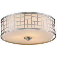 Z-Lite 330F16-BN Elea 3 Light 16 inch Brushed Nickel Flush Mount Ceiling Light