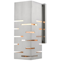 Loek 1 Light 5 inch Brushed Nickel Wall Sconce Wall Light