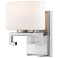 Z-Lite 335-1S-BN-LED Privet LED 7 inch Brushed Nickel Vanity Wall Light