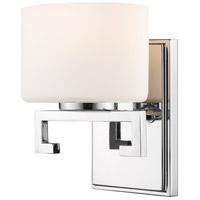 Z-Lite 335-1S-CH-LED Privet LED 7 inch Chrome Vanity Wall Light