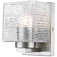 Z-Lite 336-1S-BN-LED Barrett LED 5 inch Brushed Nickel Vanity Wall Light