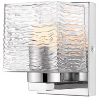 Z-Lite 336-1S-CH-LED Barrett 1 Light 5 inch Chrome Vanity Wall Light