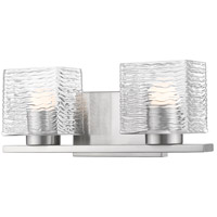 Z-Lite 336-2V-BN-LED Barrett 2 Light 15 inch Brushed Nickel Vanity Wall Light