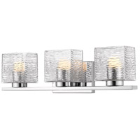Z-Lite 336-3V-CH-LED Barrett 3 Light 23 inch Chrome Vanity Wall Light