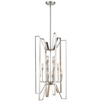 Marsala 12 Light 22 inch Brushed Nickel Pendant Ceiling Light
