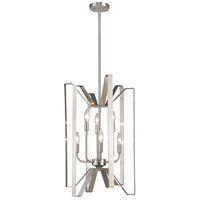 Marsala 6 Light 16 inch Brushed Nickel Pendant Ceiling Light