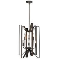 Marsala 6 Light 16 inch Bronze Pendant Ceiling Light
