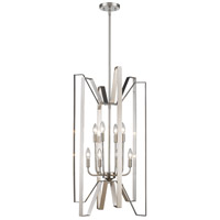 Marsala 8 Light 19 inch Brushed Nickel Pendant Ceiling Light