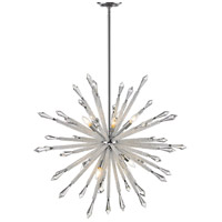 Z-Lite 4002-10 Soleia 10 Light 37 inch Chrome Chandelier Ceiling Light
