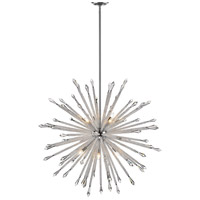 Z-Lite 4002-12 Soleia 12 Light 47 inch Chrome Chandelier Ceiling Light