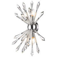 Soleia 4 Light 10 inch Chrome Wall Sconce Wall Light