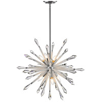 Z-Lite 4002-8 Soleia 8 Light 27 inch Chrome Chandelier Ceiling Light