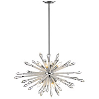 Z-Lite 4002-8B Soleia 8 Light 32 inch Chrome Chandelier Ceiling Light