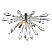 Soleia 3 Light 18 inch Chrome Flush Mount Ceiling Light