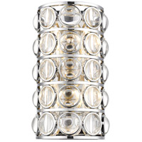 Z-Lite 4004-4S-CH Eternity 4 Light 10 inch Chrome Wall Sconce Wall Light