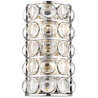 Z-Lite 4004-4S-CH Eternity 4 Light 10 inch Chrome Wall Sconce Wall Light