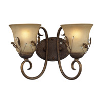 Z-Lite Coventry 2 Light Vanity in Antique Gold 403-2V