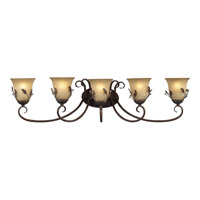 Z-Lite Coventry 5 Light Vanity in Antique Gold 403-5V photo thumbnail