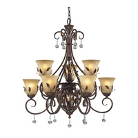 Z-Lite Coventry 10 Light Chandelier in Antique Gold 403-9 photo thumbnail