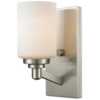 Z-Lite Montego 1 Light Wall Sconce in Brushed Nickel 410-1S