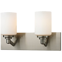 Z-Lite Montego 2 Light Vanity in Brushed Nickel 410-2V