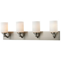 Z-Lite Montego 4 Light Vanity in Brushed Nickel 410-4V