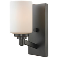 Z-Lite Montego 1 Light Wall Sconce in Coppery Bronze 411-1S