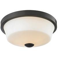 Z-Lite 411F2 Montego 2 Light 13 inch Coppery Bronze Flush Mount Ceiling Light